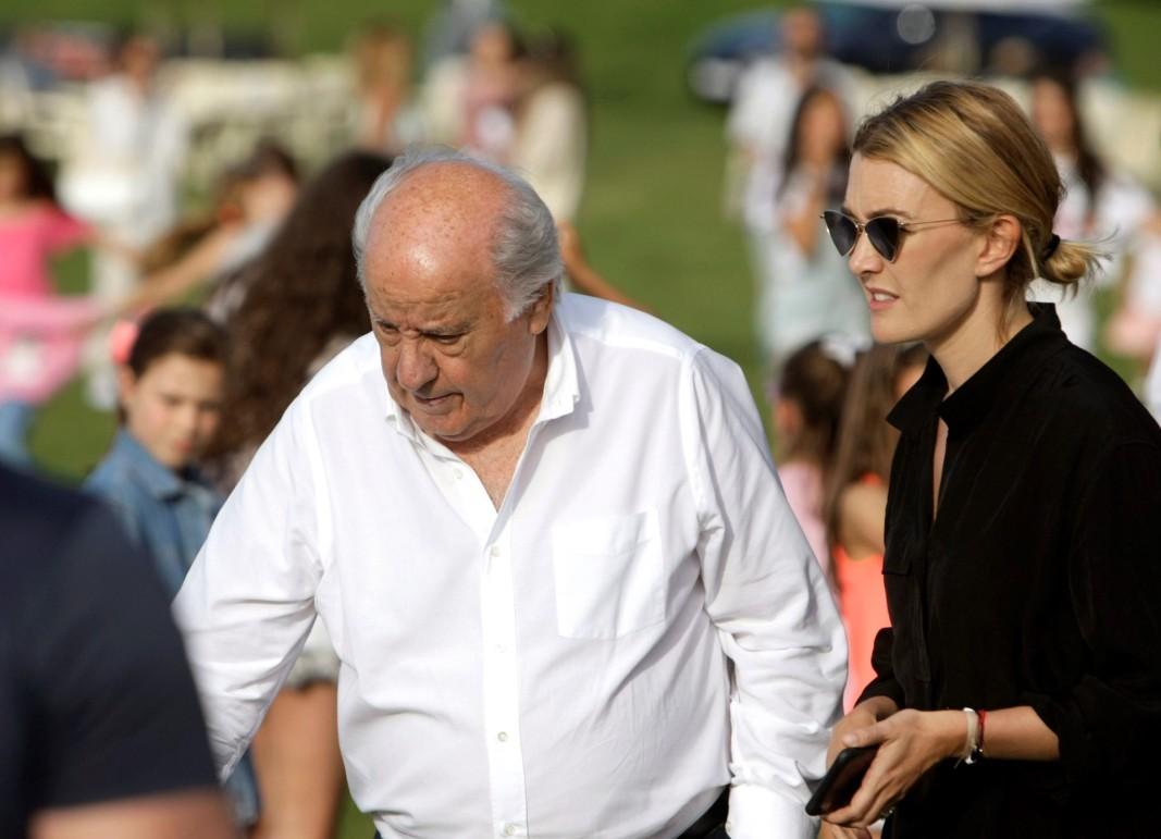 Вторият по богатство в Европа Амансио Ортега с дъщеря си Марта
