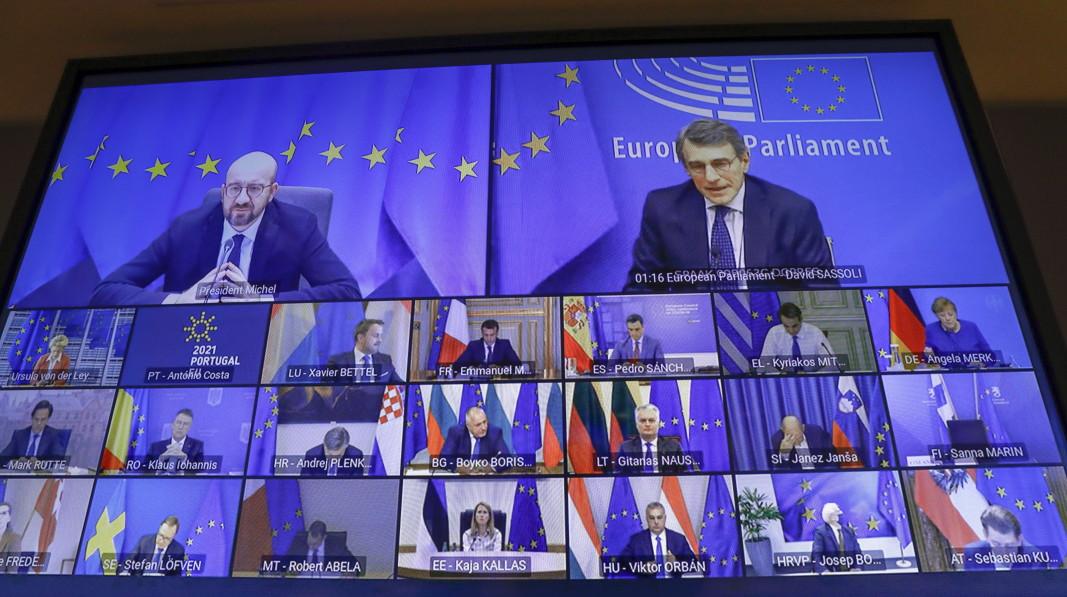 Видеоконференция на европейските лидери по казуса за Covid пандемията и ваксините