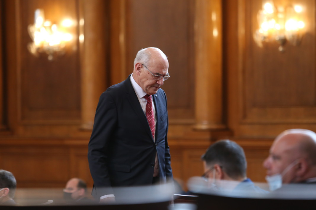 Председателят на КЕВР Иван Иванов в Народното събрание - 7 май 2021 г.