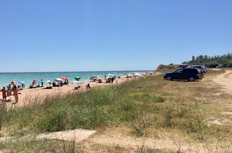Плажът край Крапец