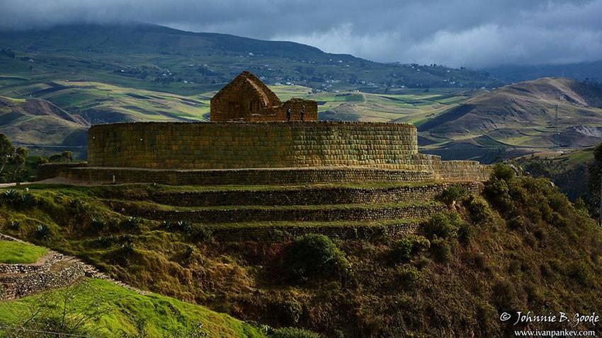 Le Temple du Soleil à Ingapirca, Equateur