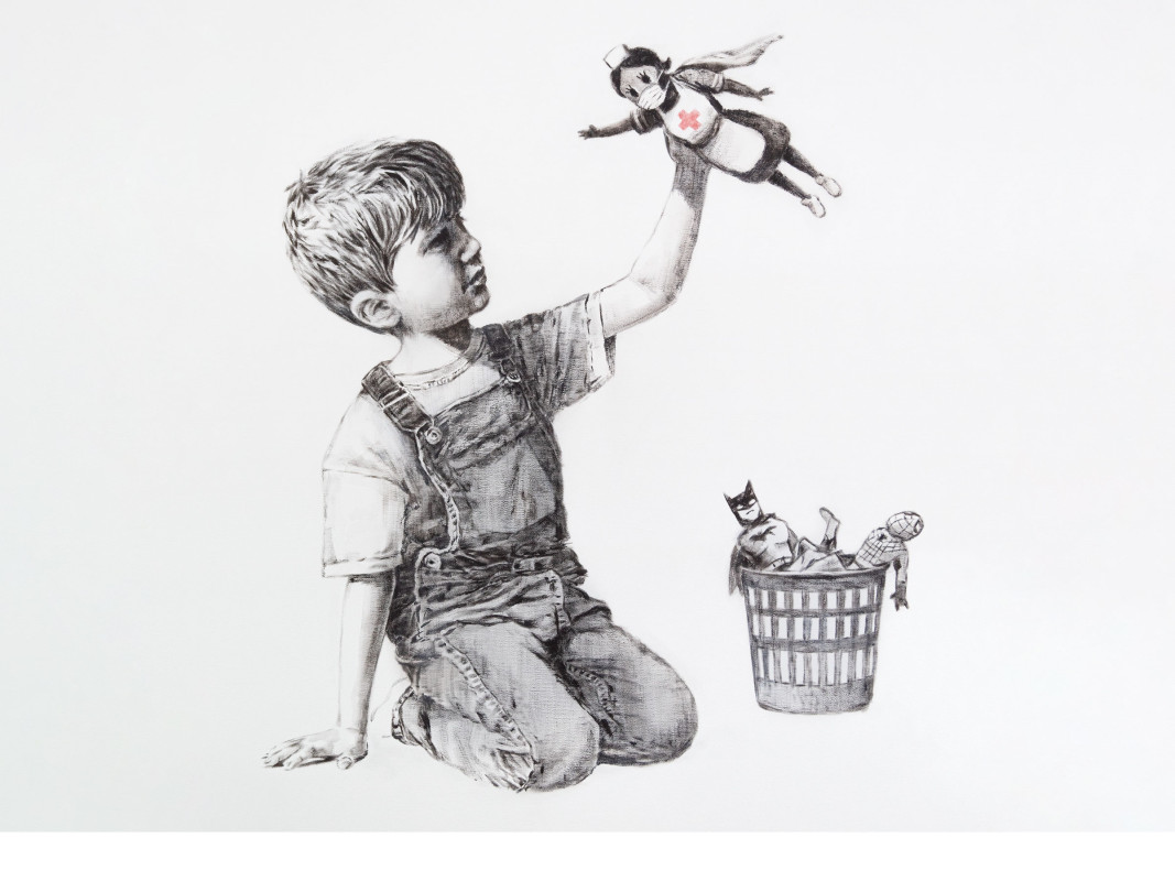 Снимка: banksy.co.uk