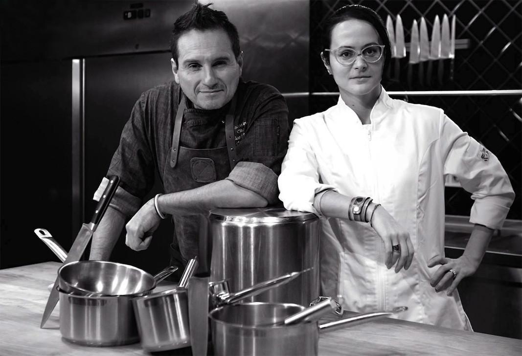 Gianfranco Chiarini and Anna Chiarini