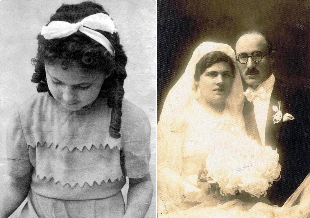 Малката Беатриче-Батия и родителите й