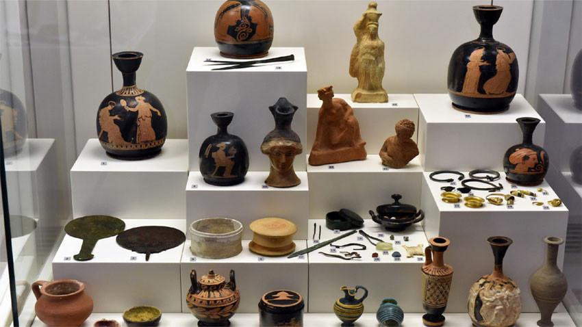 Артефакти от Аполония Понтика. Снимка: sofiahistorymuseum.bg