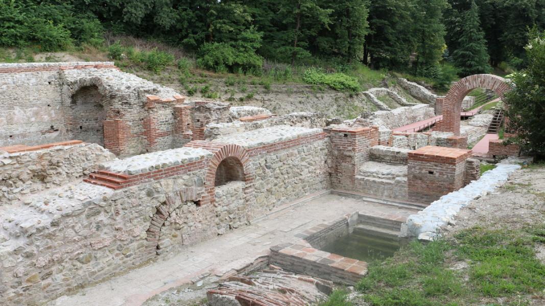 Римските терми в Хисаря Снимка: БГНЕС