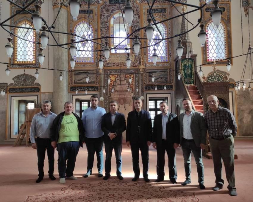 Heyet Şumen, Tombul Camii'yi ziyaret etti