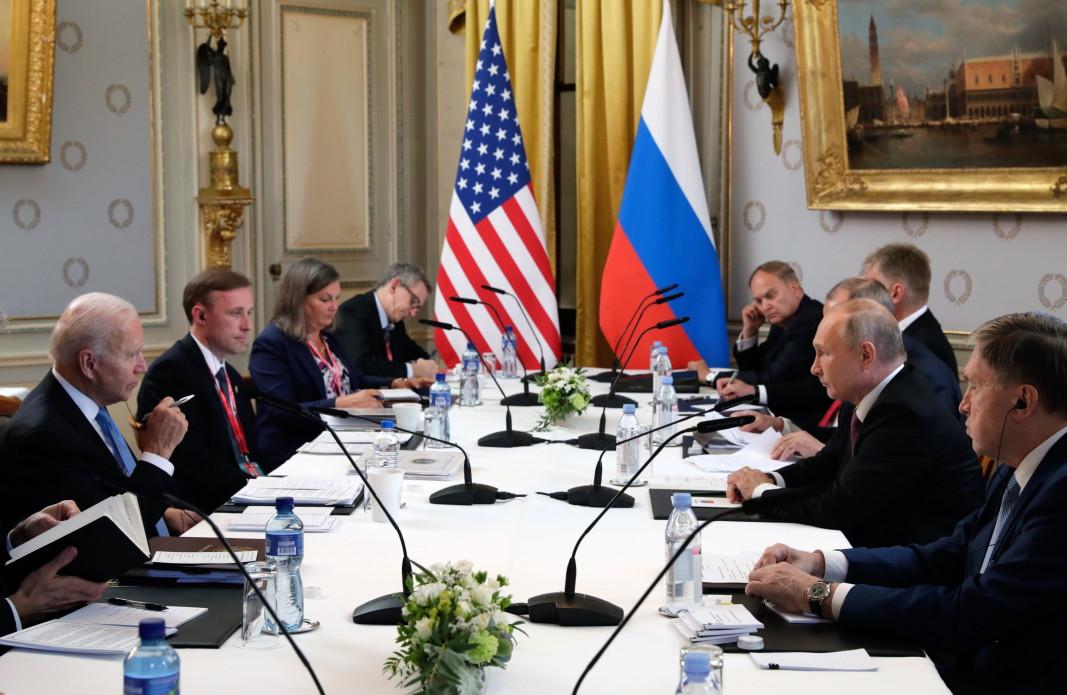 На срещата на върха САЩ – Русия, 16 юни 2021 г.