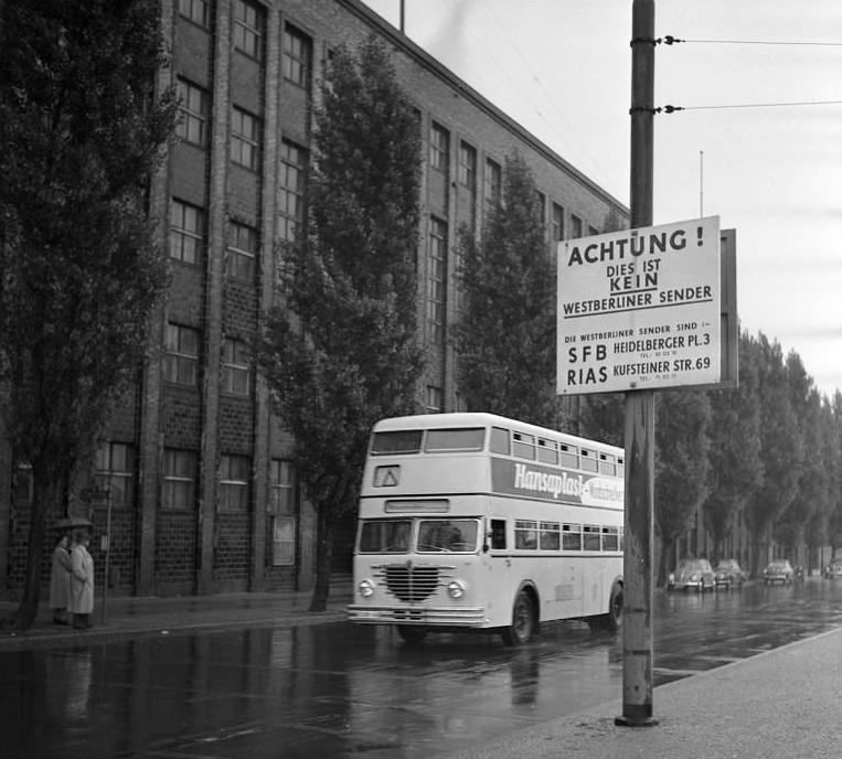 Sender Freies Berlin, 1955