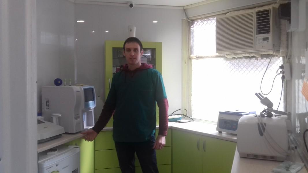 д-р Цветимир Петьов, ветеринар