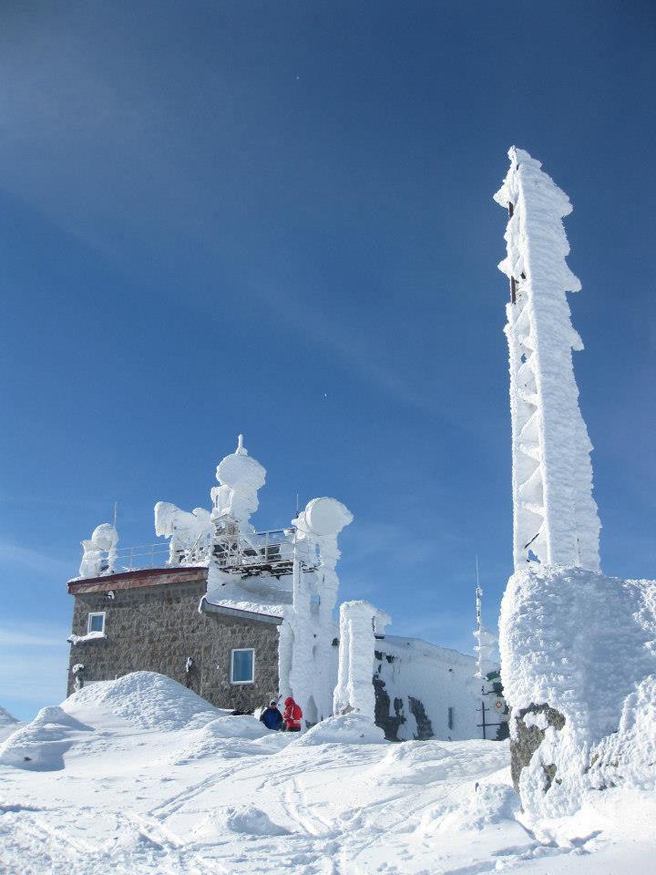 Cherni Vruh in winter