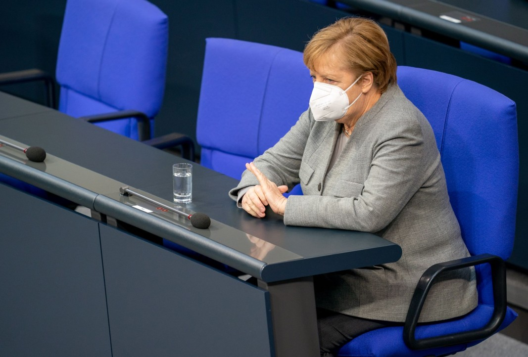 Канцлерката на Германия Ангела Меркел