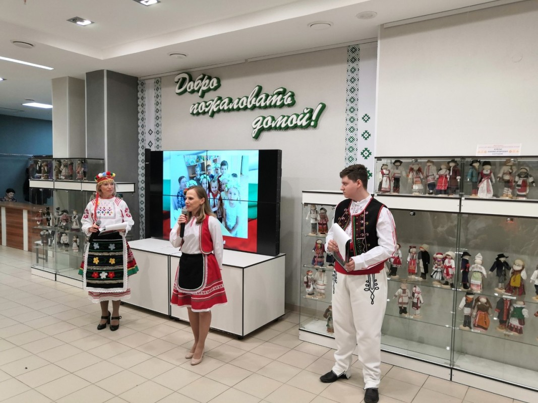 Открытие кабинета-музея в Доме дружбы народов г. Сыктывкар