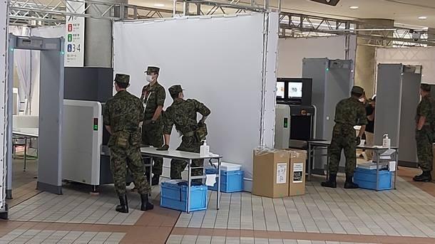 Военни при скенерите