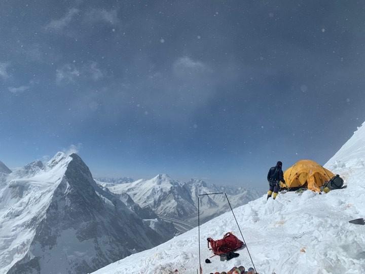 Лалер 4 (7950 м) на К2