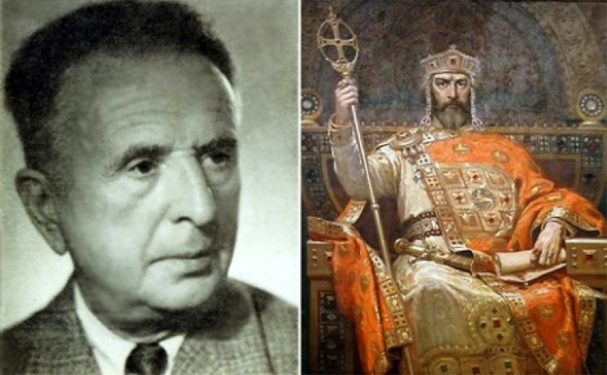 """Dimitër Gjuxhenov dhe tabloja """"Mbreti Simeon"""""""