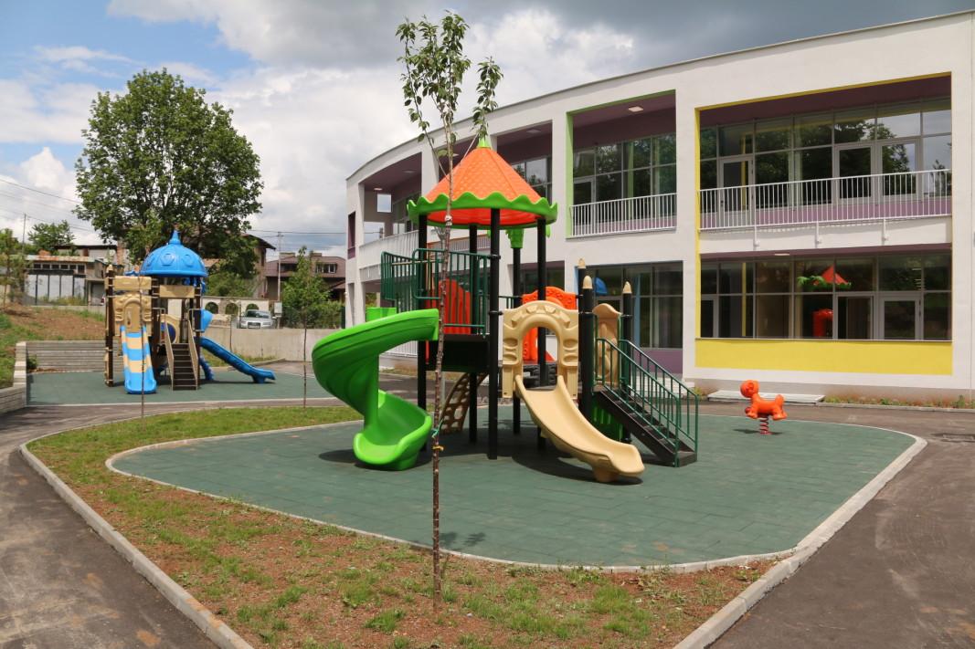 Новата детска градина в Нови Искър