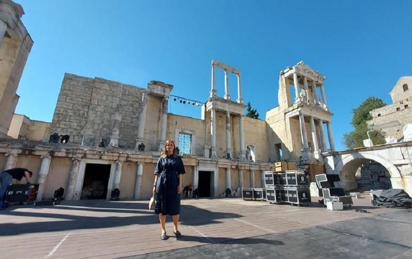 В Античном театре в Пловдиве