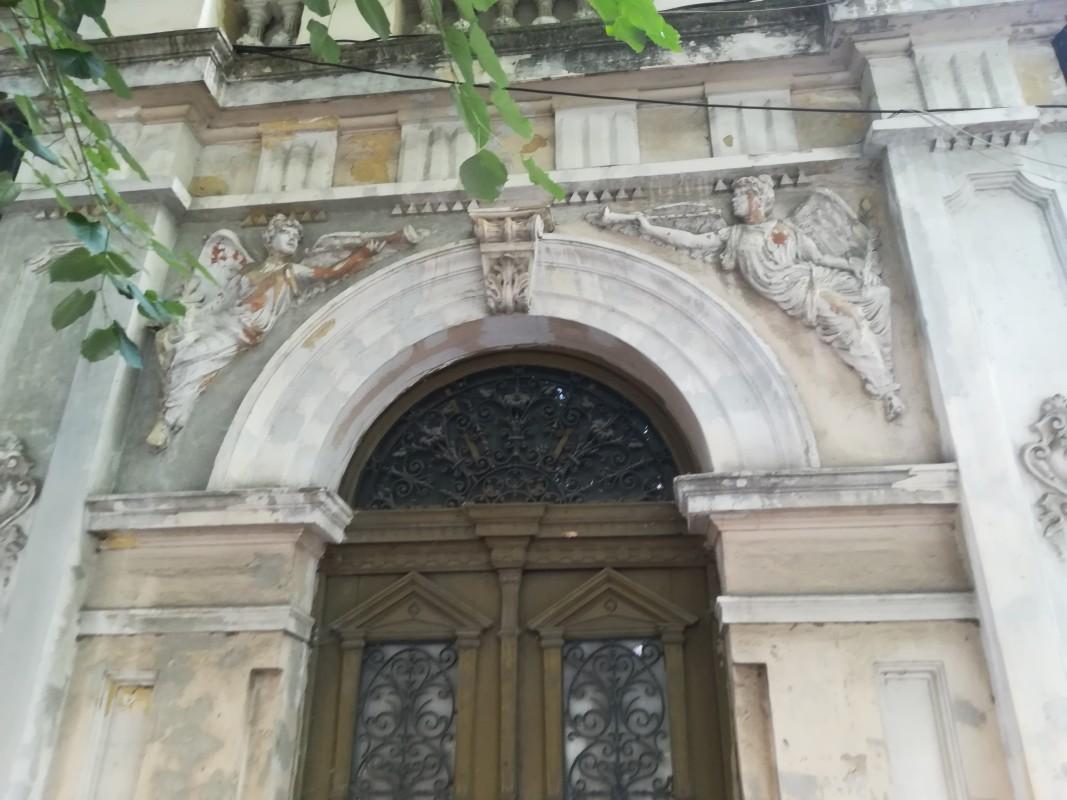 фрагмент от стара къща във Видин