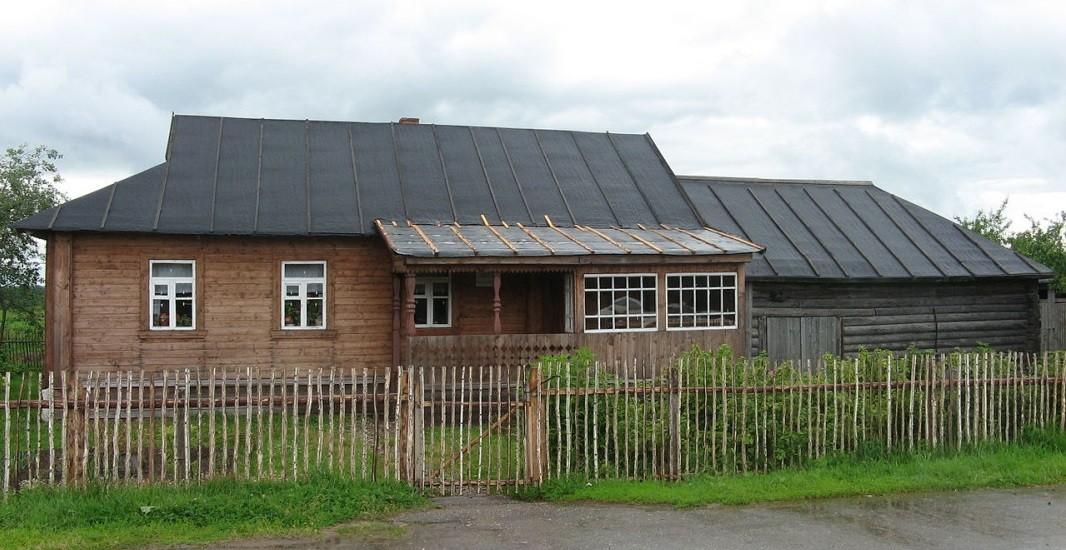 Домът на семейство Гагарини в с. Клушино