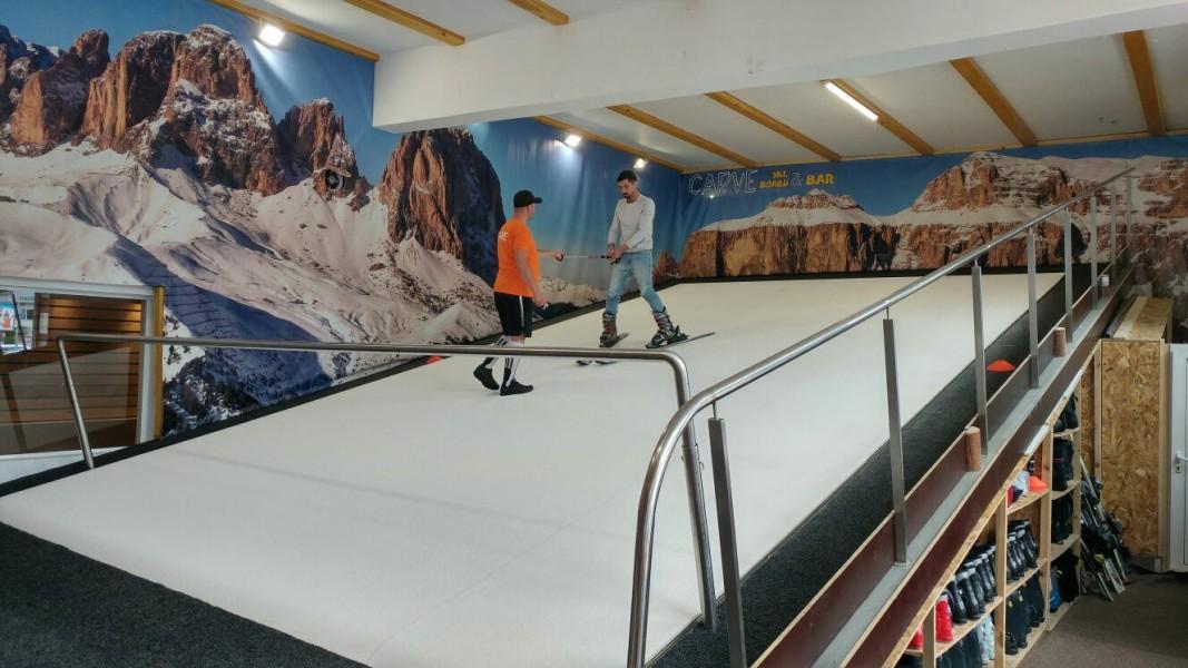 От няколко месеца в София работи спортен център за ски