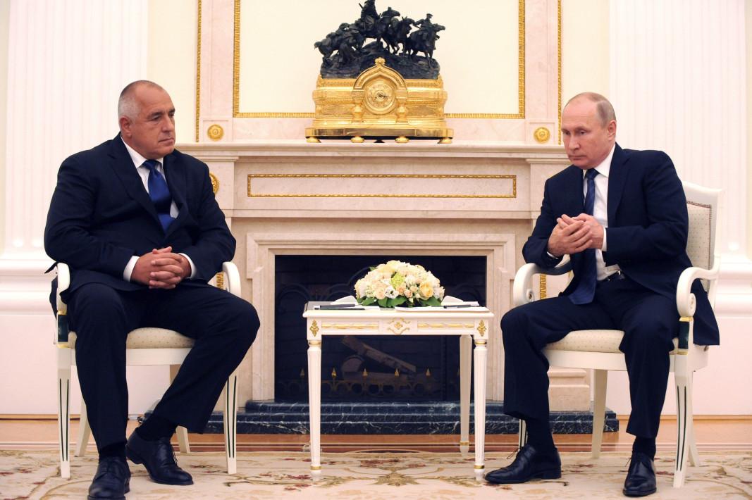 Бойко Борисов и Владимир Путин   Снимка: Цветан Томчев