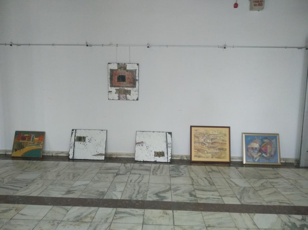 В подготовка на изложбата