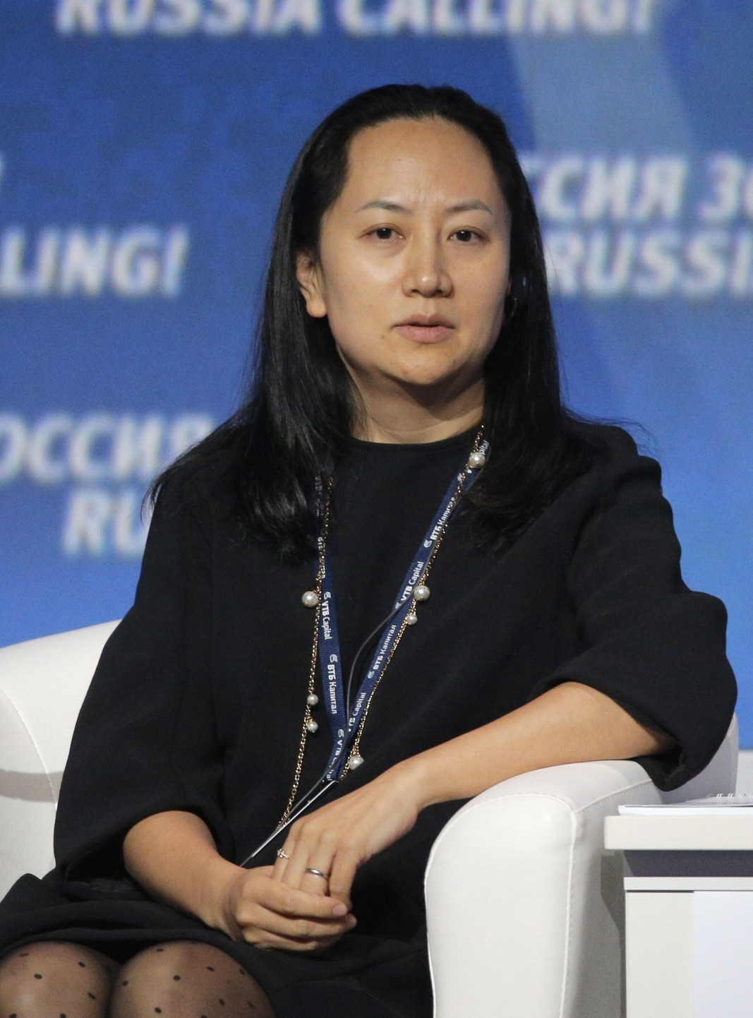 Мън Ванчжоу, финансов директор на Huawei