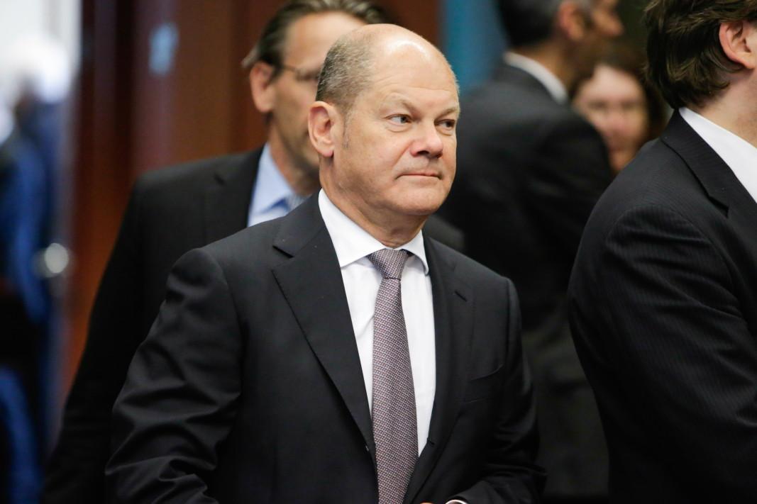 Олаф Шолц, финансов министър на Германия