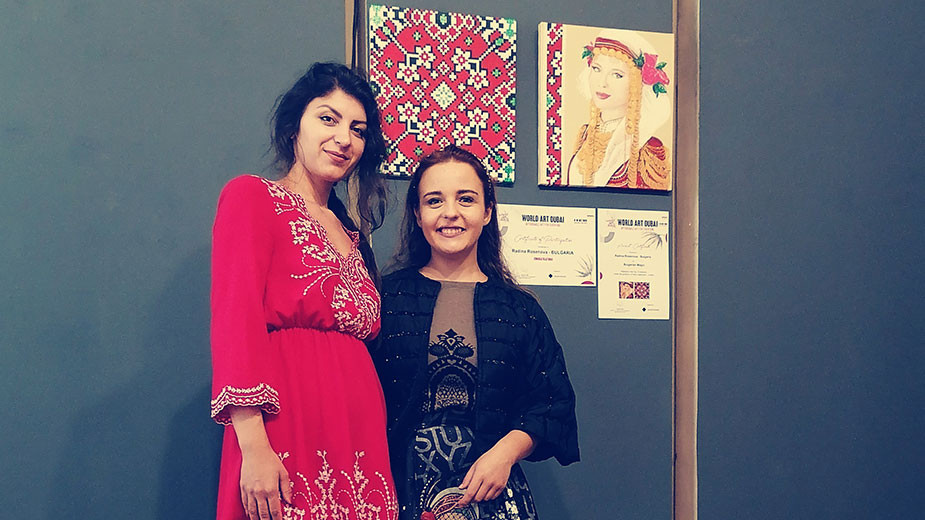 Радина Росенова (вляво) и  Ангелина Грозева