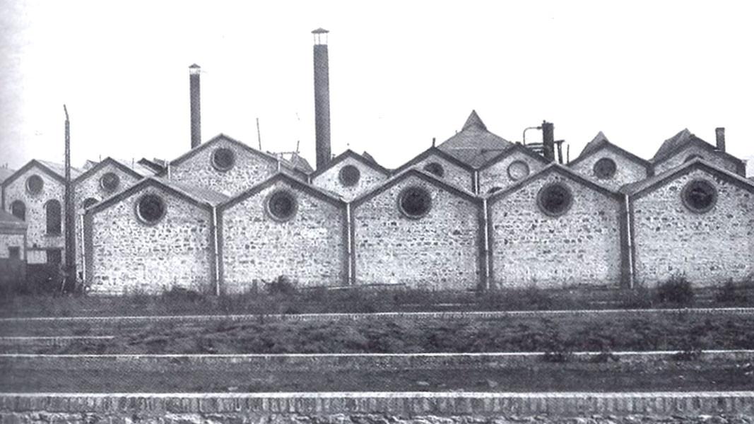 Захарната фабрика в София, ок. 1900 г.  /  Снимка: bg.wikipedia.org