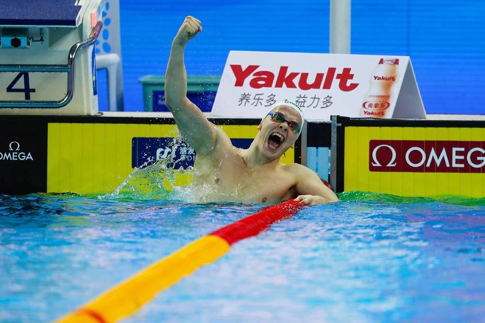 Литовецът Данас Рапсис спечели първото злато на световното първенство по