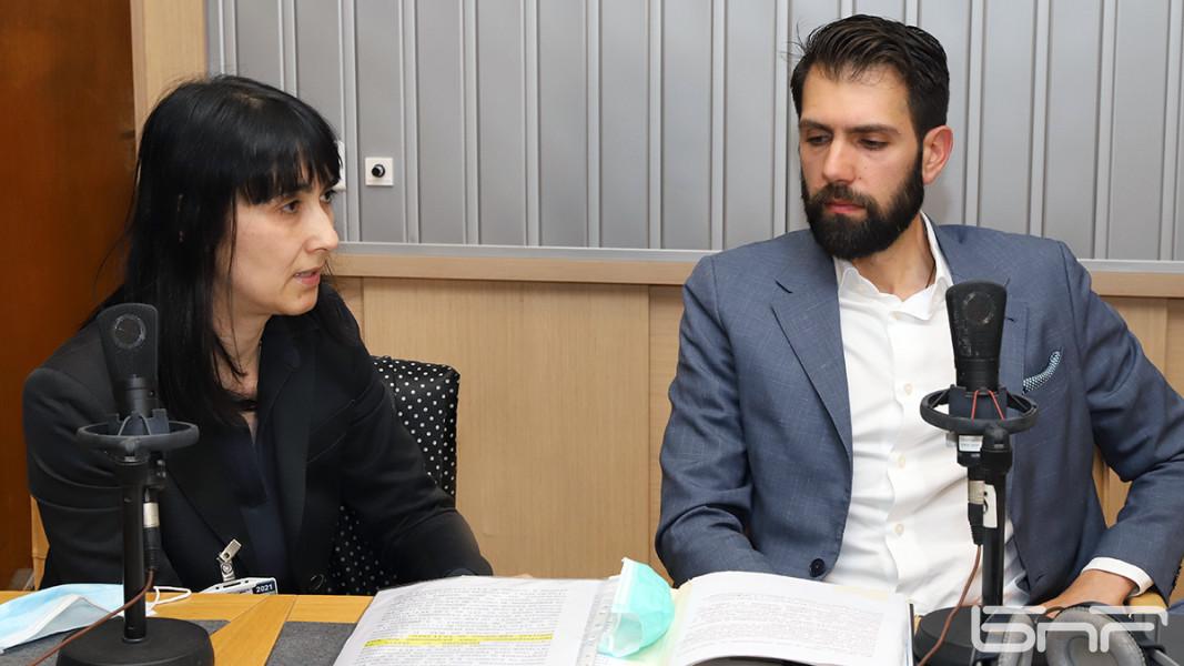Адвокат Милена Гайдарска и архитект Пламен Мирянов