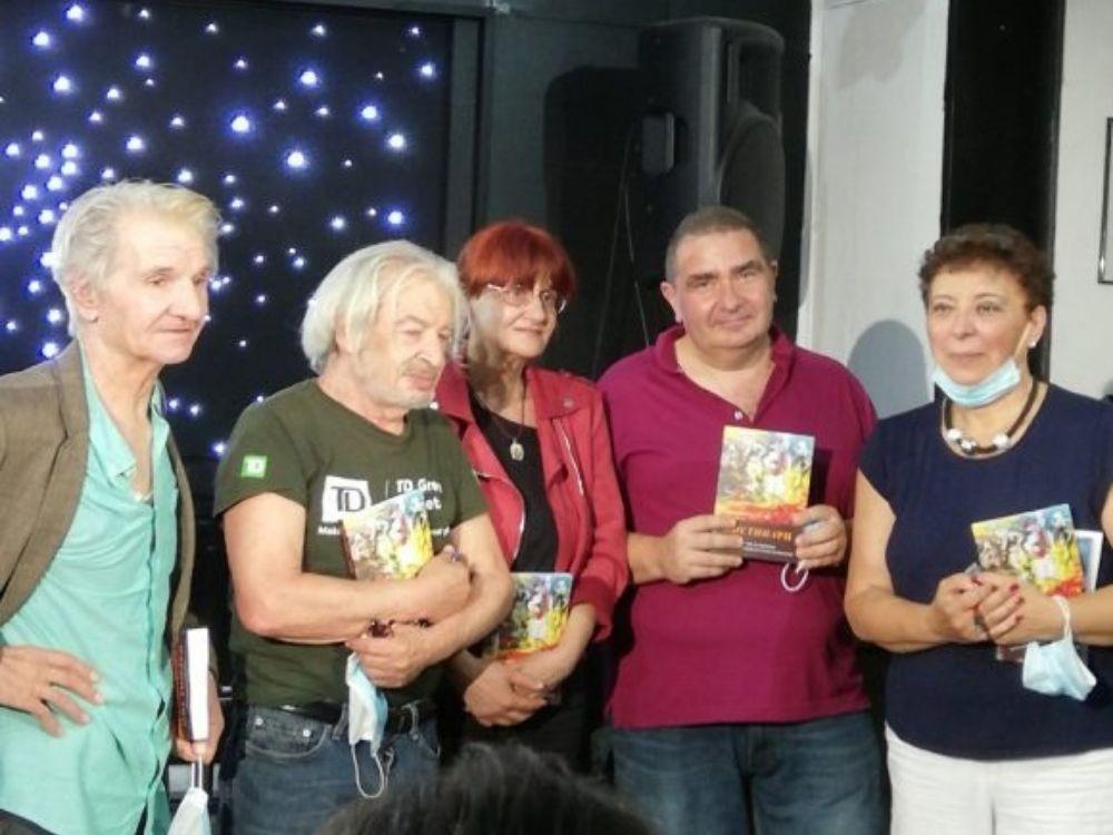 Genadiy Velçev, Vladimir Stan, Mariana Hristova, Viktor Hinov, Elena Peeva- Nikiforidis.