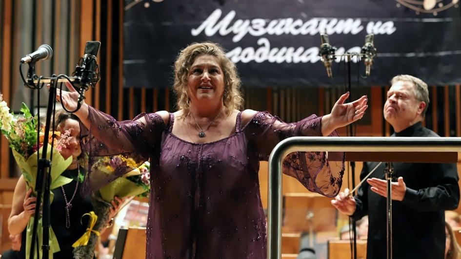 Габриела Георгиева на церемонията