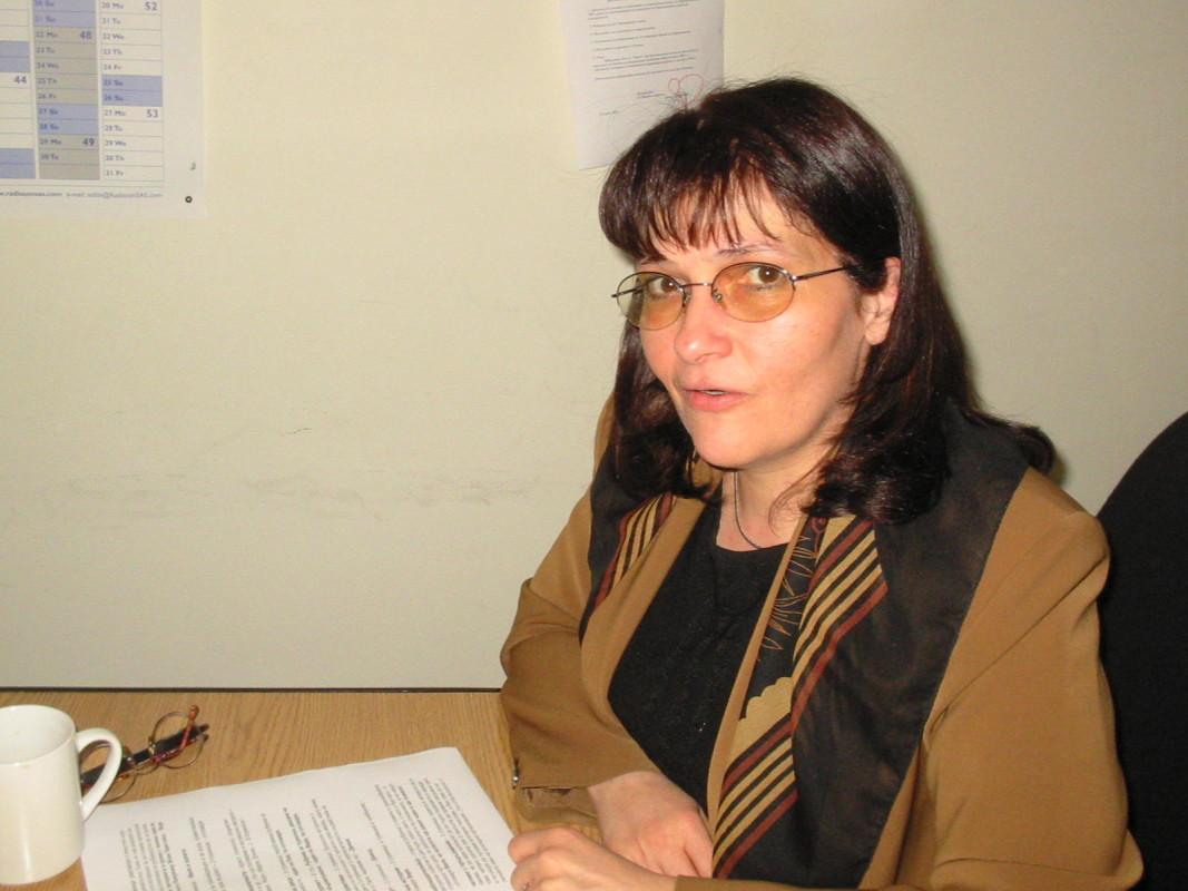 Капка Панайотова - изпълнителен директор на Център за независим живот