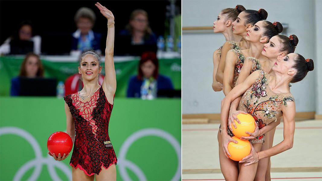 2016 Rio Olimpiyadı için hazırlanan kostüm ve 2019 kız takımı için tasarlanan benzersiz dantelli gül motifli kostümler tasarımcının en sevdikleridir.