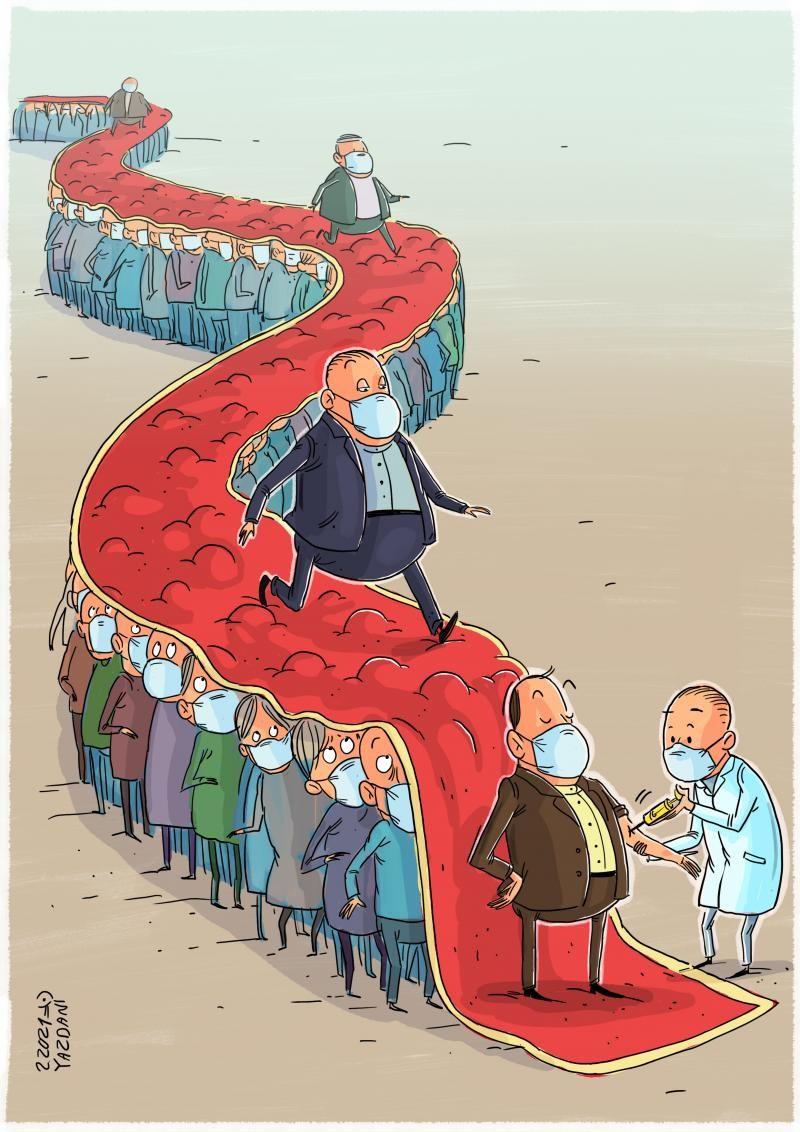 Автор: Mahnaz Yazdani / cartoonmovement.com