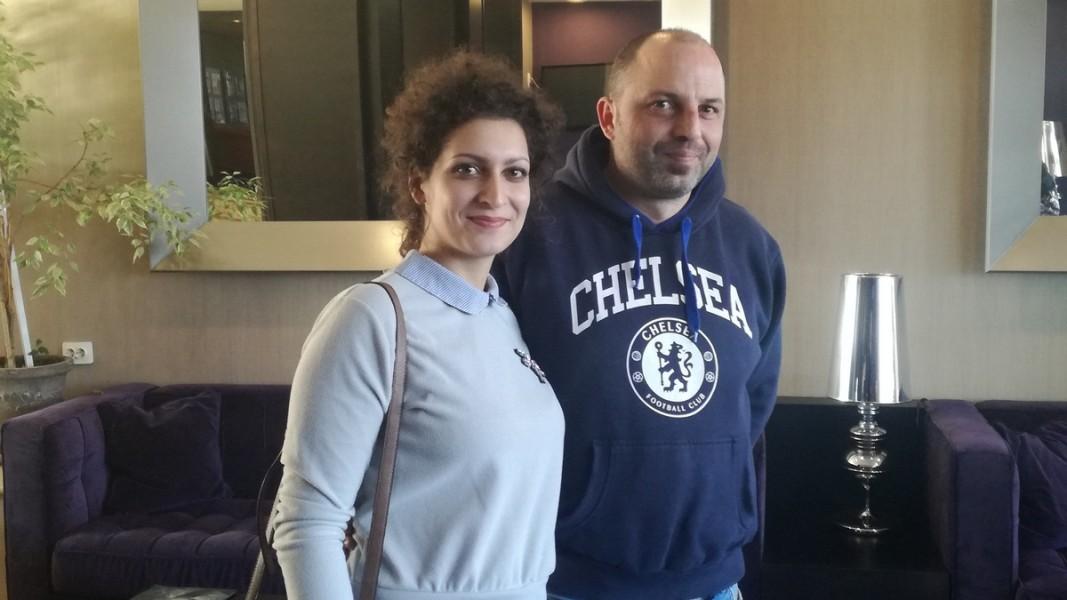 Ангела Гюрова и Петър Бояджиев