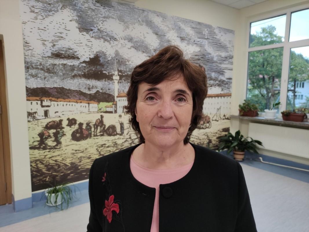Здравка Дачева, заместник-директор на Професионална гимназия по текстил