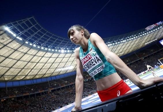 Сребърната медалистка от олимпиадата в Рио 2016 на скок височина