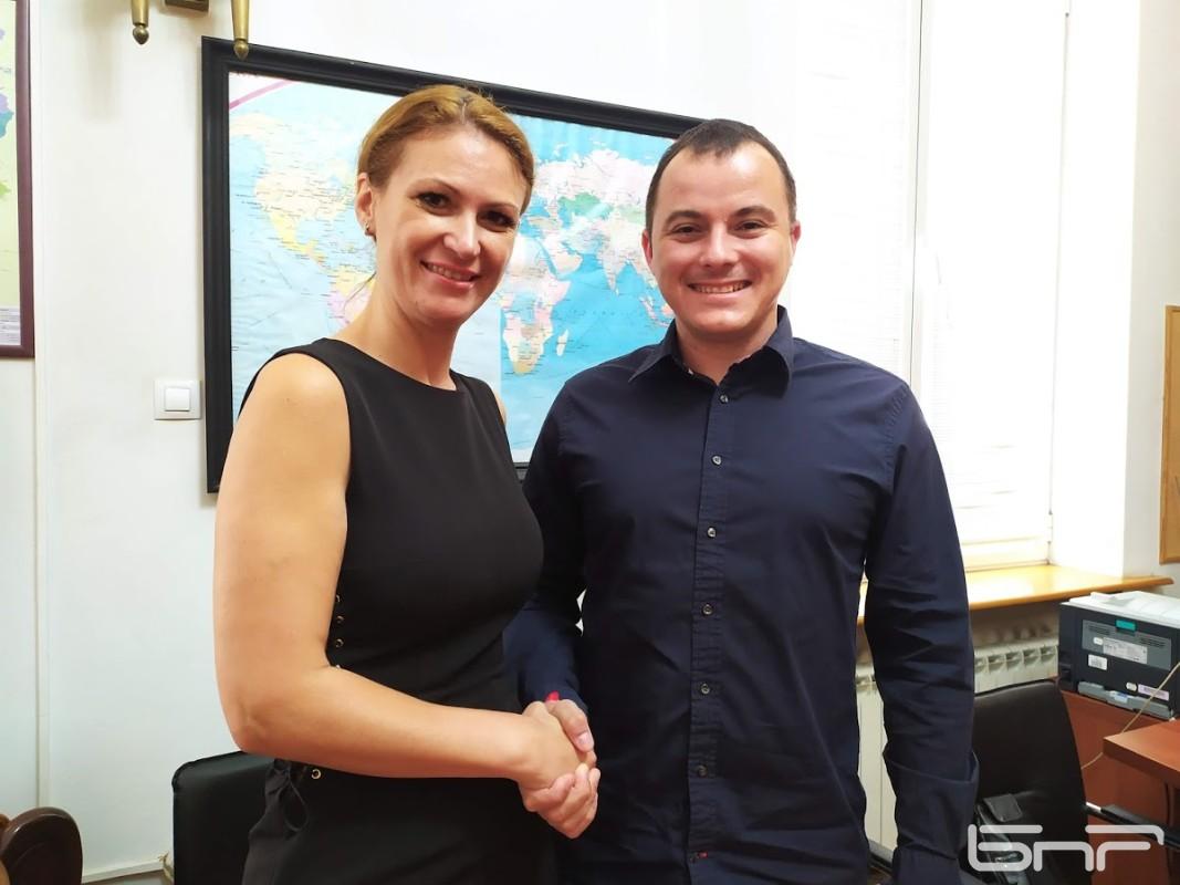 Никола Йевтич - кинезитерапевт и Диляна Дойчинова