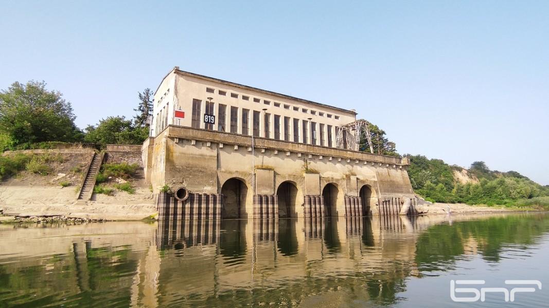 Попмената станция на село Гомотарци, най-голямата в българския участък на Дунав