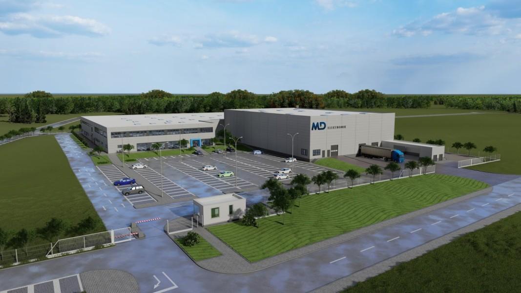 Така трябва да изглежда заводът при завършването на строежа. Снимка: Община Враца