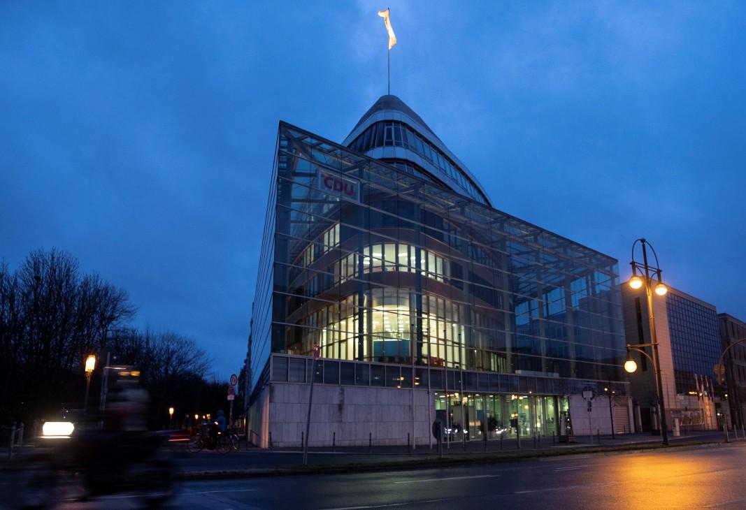 Централата на ХДС в Берлин, снимка: ЕПА/БГНЕС