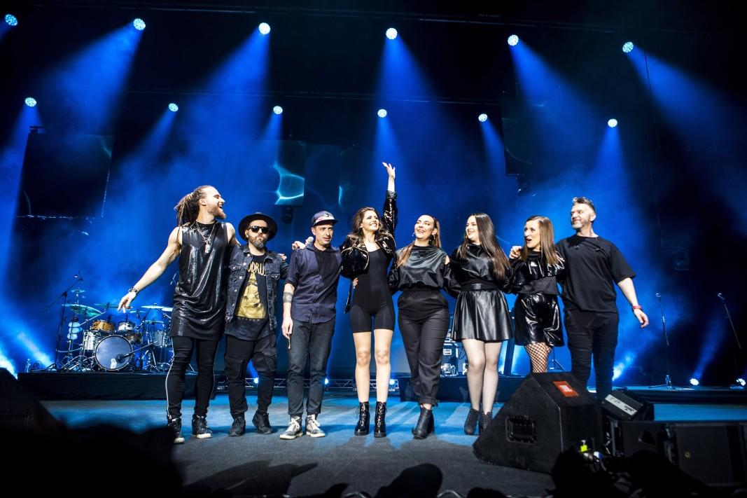 Финалът на концерта
