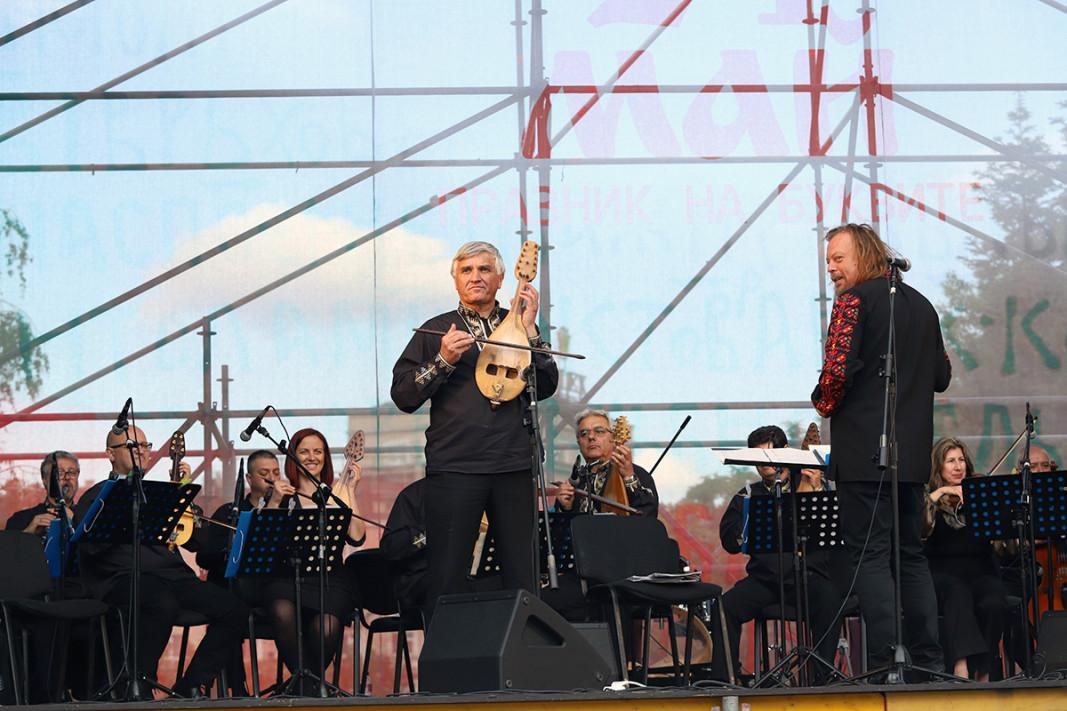 Оркестърът за народна музика на БНР. Снимка: Ани Петрова