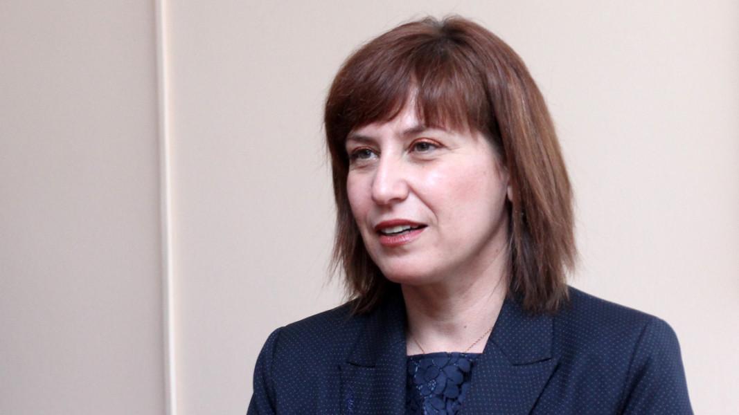 Главният съдебен инспектор Теодора Точкова встъпи в длъжност през април 2015 г.  Снимка: БГНЕС