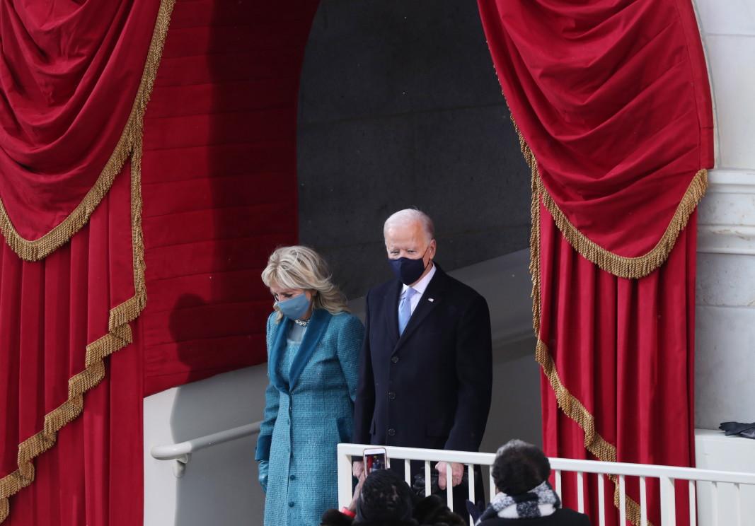 Джо Байдън със съпругата си Джил Байдън