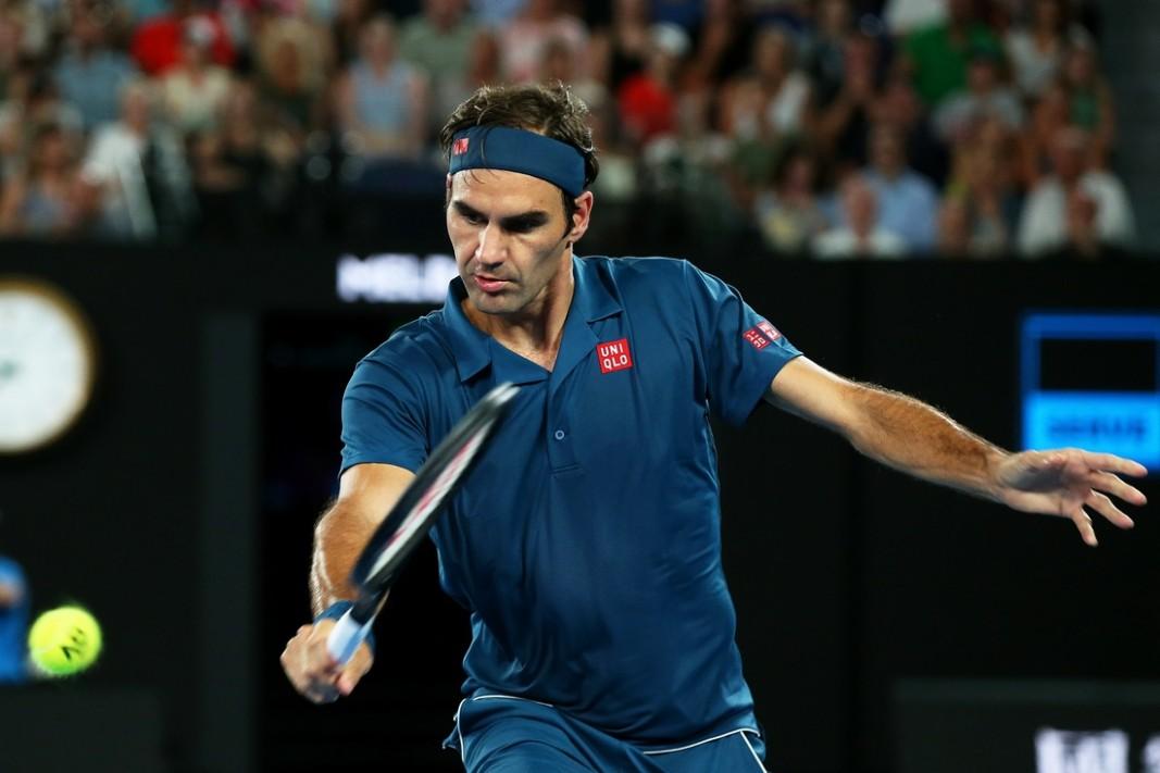 Федерер спечели в 3 сета